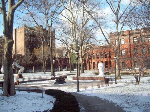 pratt campus in winter httpwwwpanoramiocomphoto