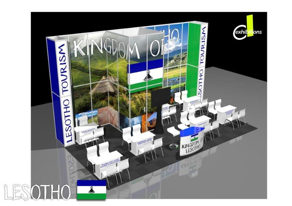 #Lesotho stand at #Indaba2013