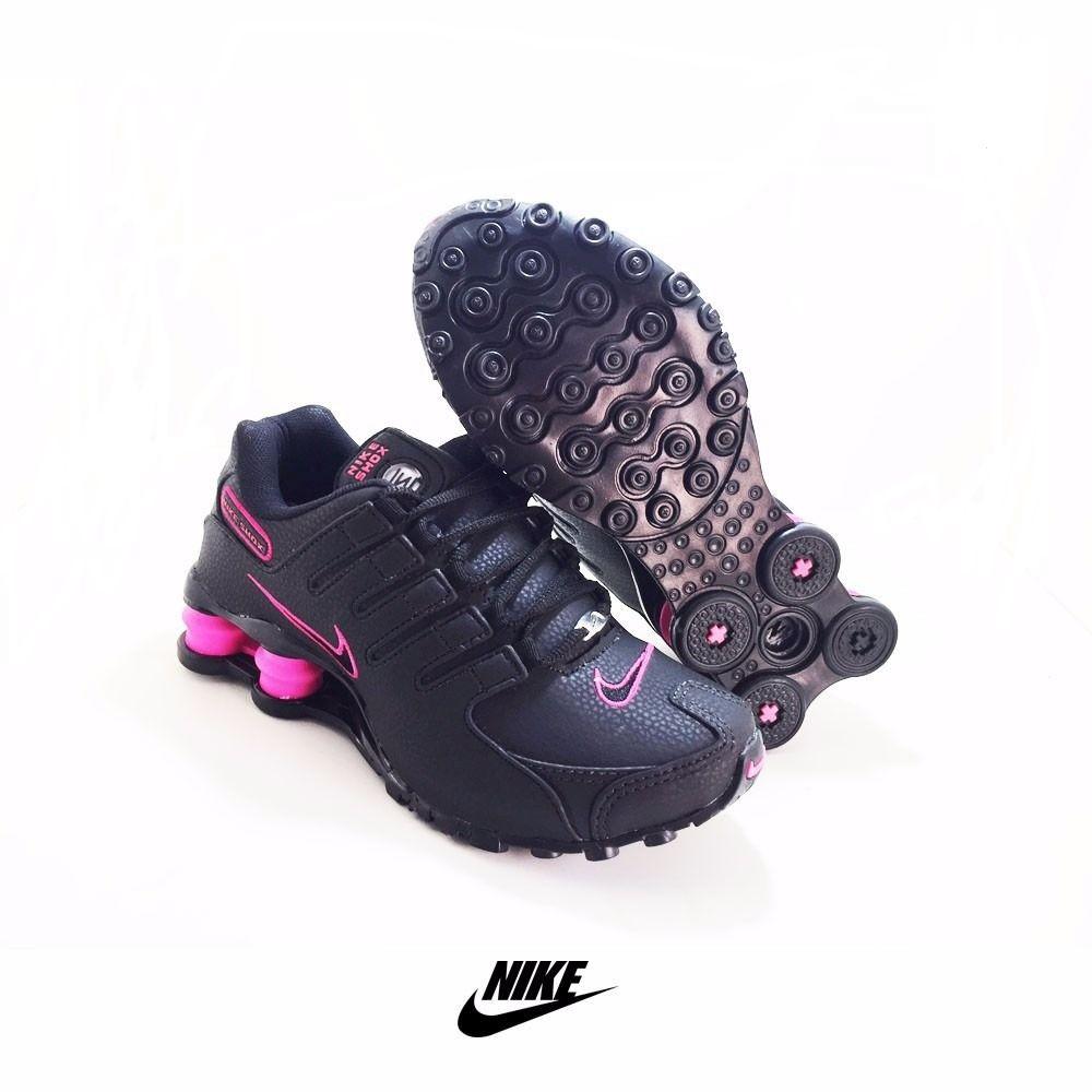 a9d33fb496 Tênis Nike Shox 4 Molas Feminino Varios Modelos e Cores VAREJO e ATACADO  vendas na loja