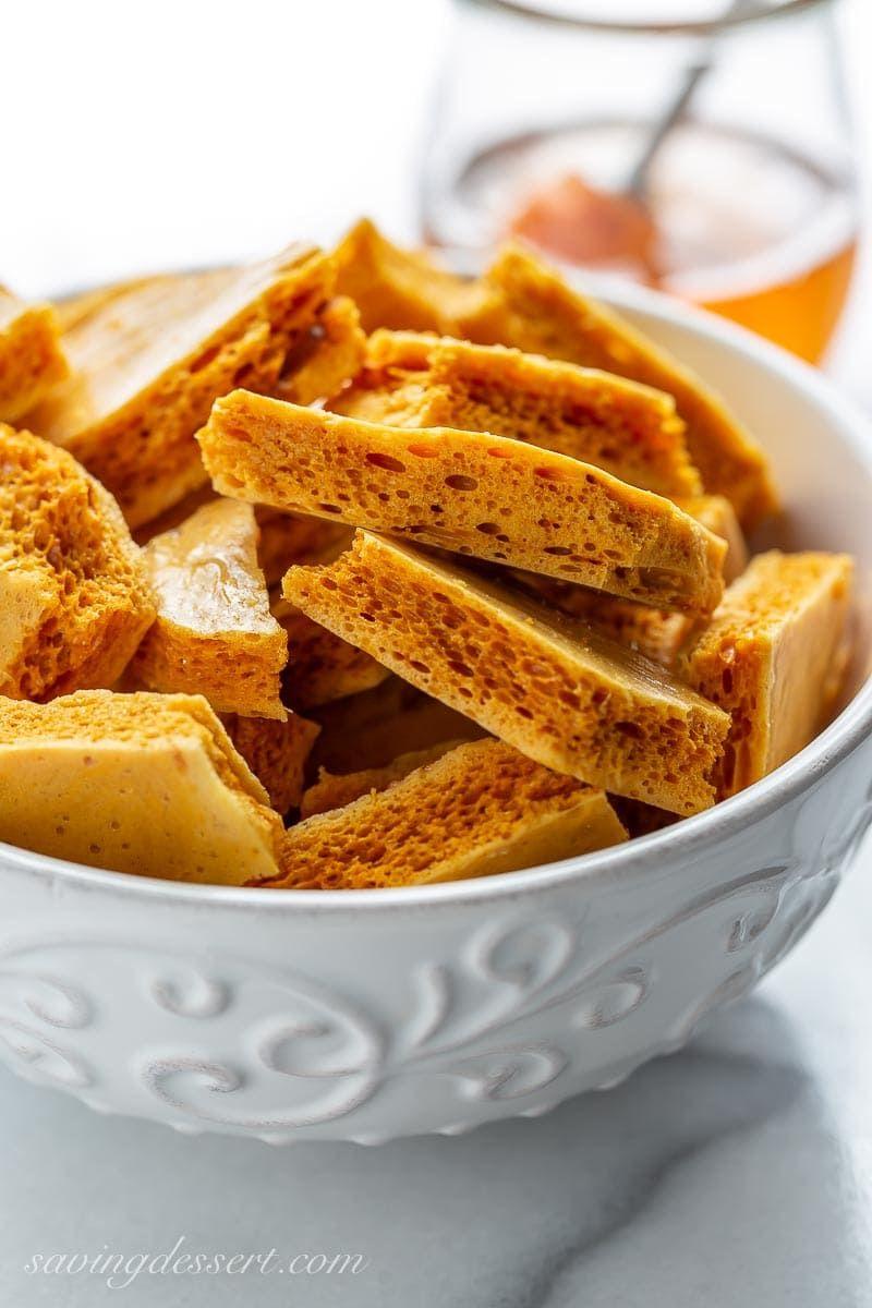 Honeycomb Candy - Saving Room for Dessert