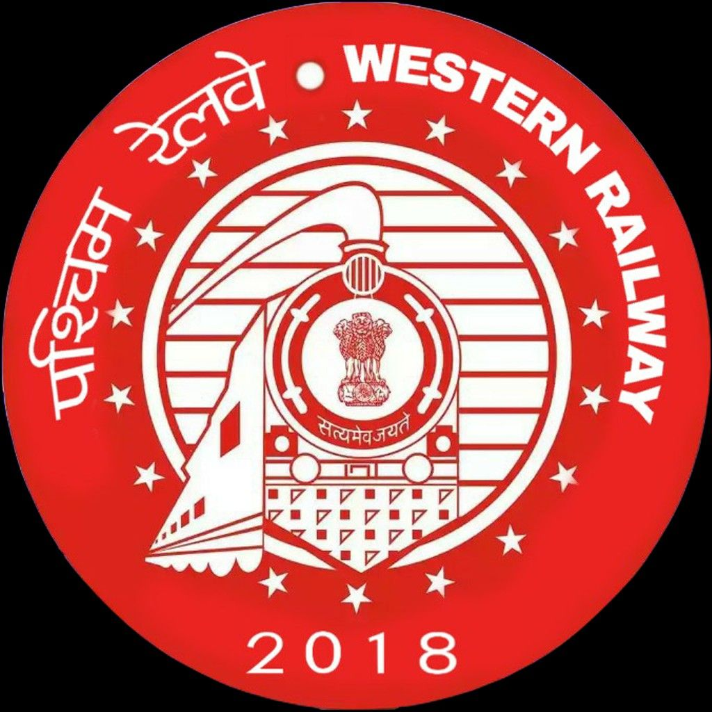1st Western RAILWAY LOGO Railway jobs, Indian railways