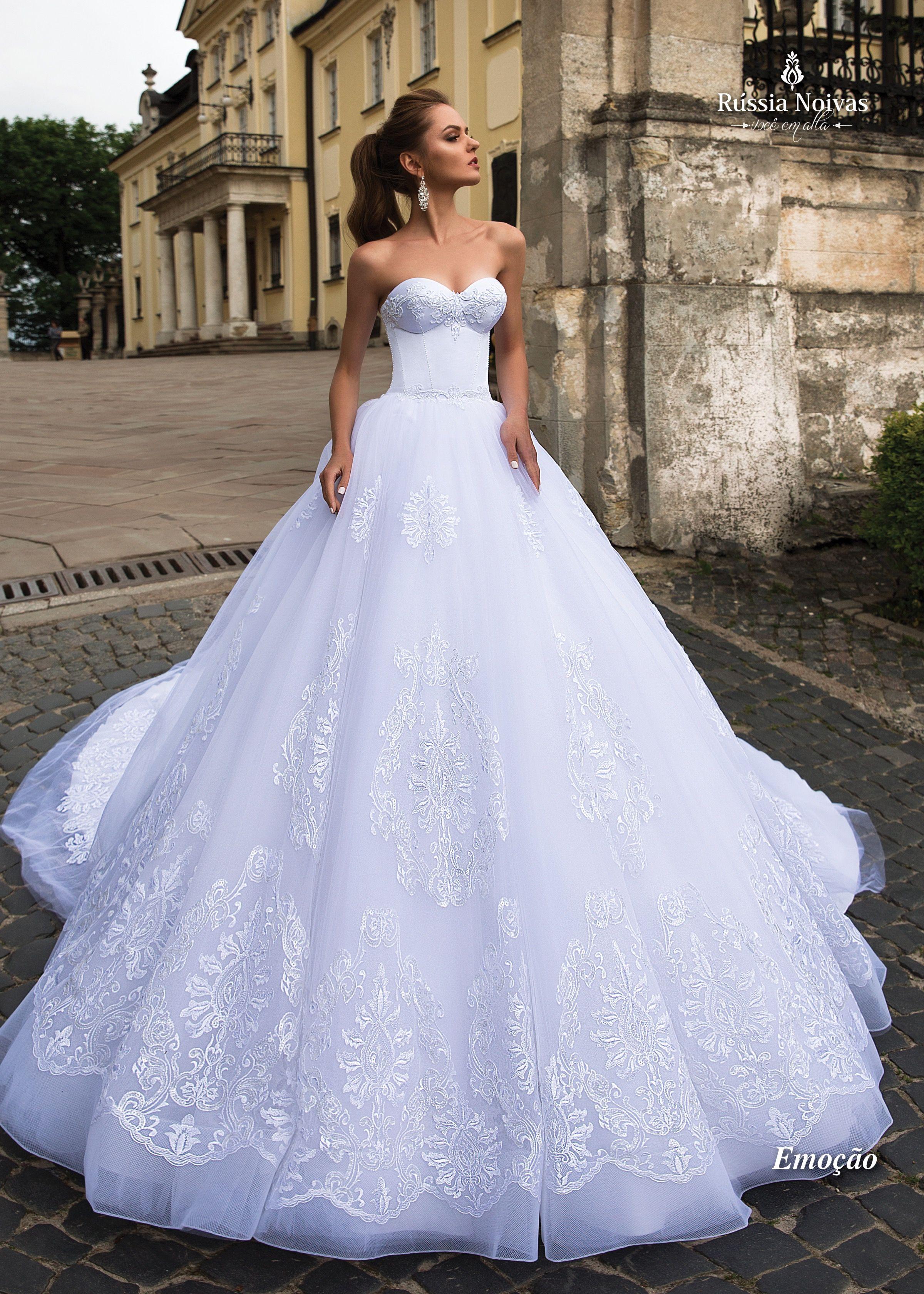 Vestido de noiva emoção coleção lago dos cisnes