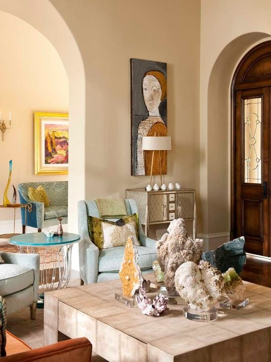 sophisticated luxe residence hacienda chic interior design