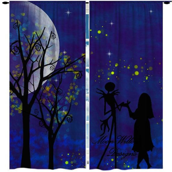 Jack Skellington Bedroom Curtains Bedroom Design Ideas