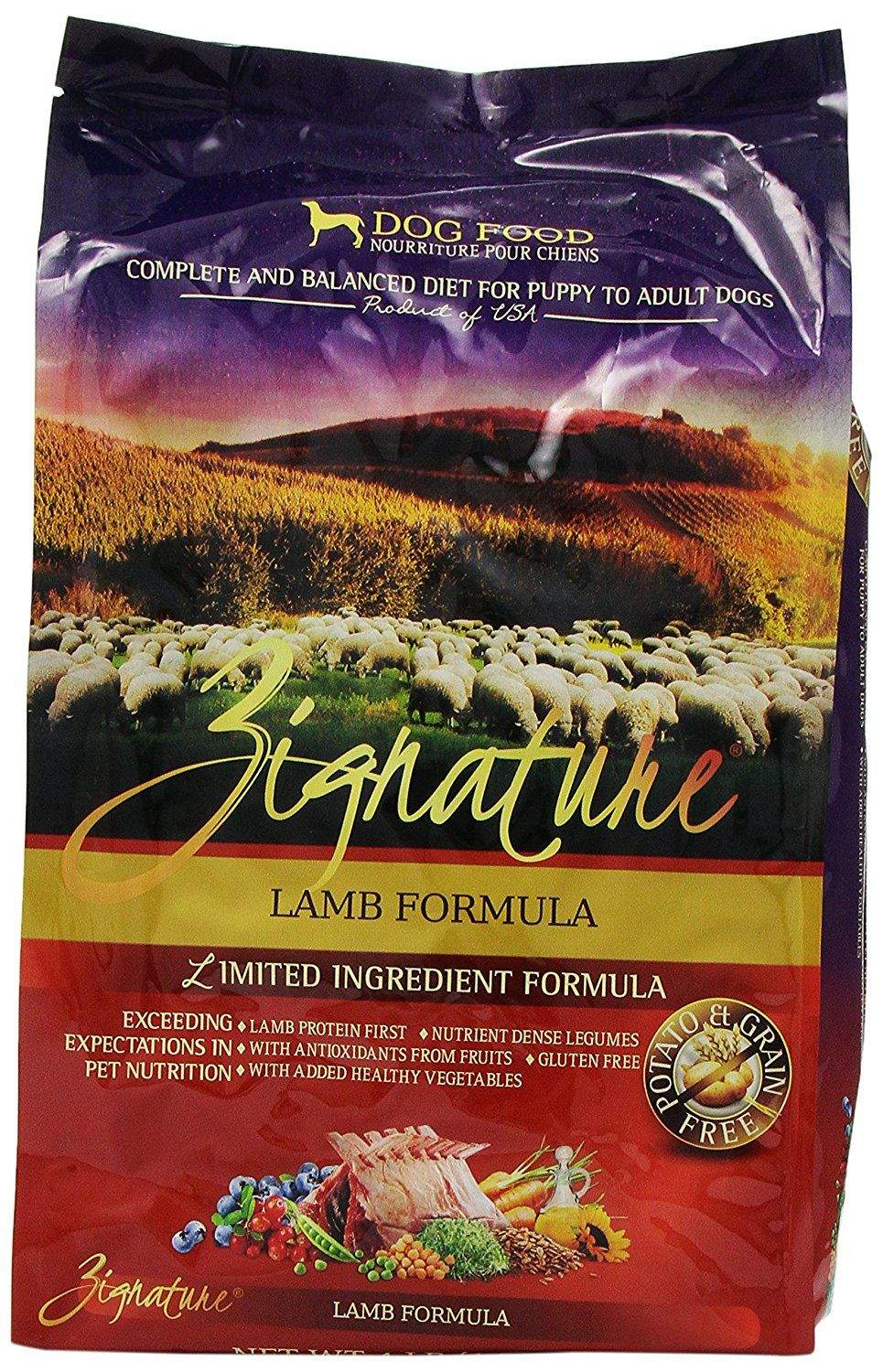 Zignature Lamb Dry Dog Food 4 Pound Check This Awesome Product