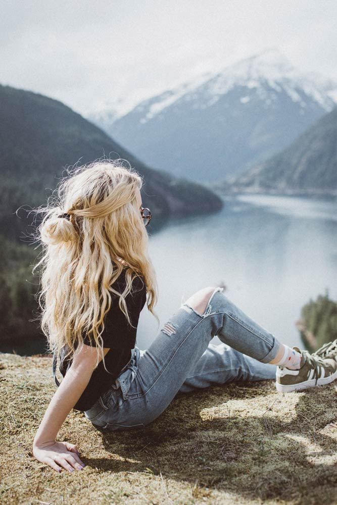 21 Hairstyles For Long Hair Perfect For Vacation Easy