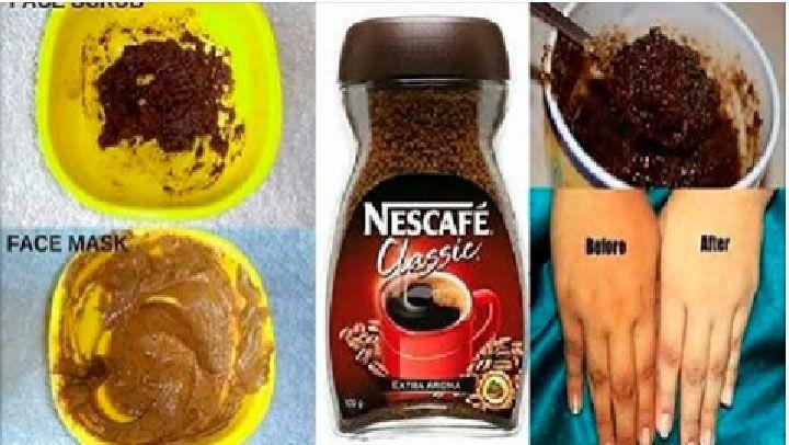 mascarilla de cafe con miel para que sirve