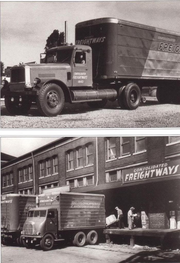 Cf Terminal Top Photo Similar To Hartoy 1939 Peterbilt Trucks