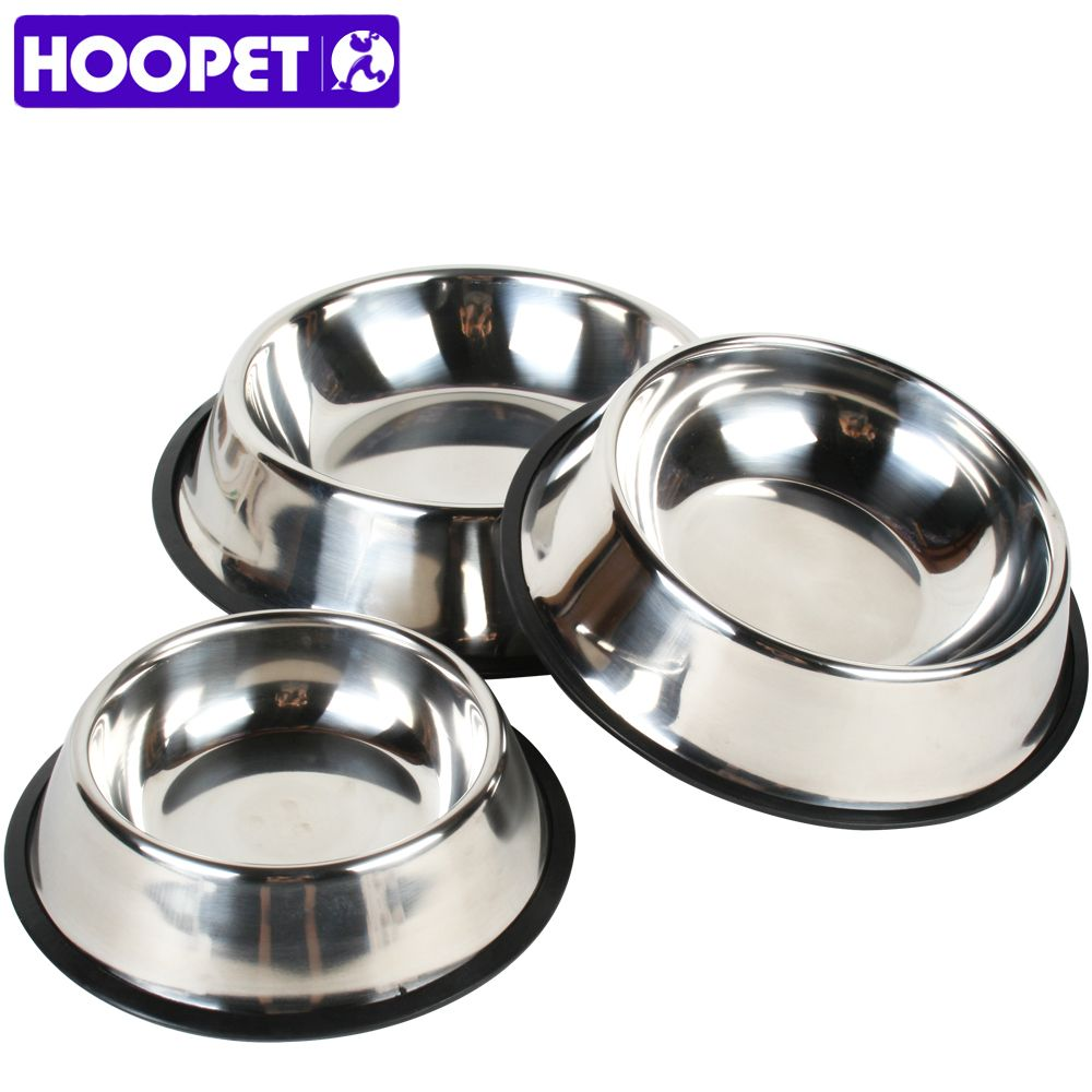 Pet Daily Products Large Dog Stainless Steel Feeder Bowls Pet