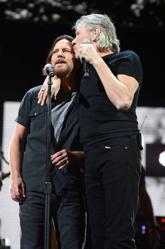 Eddie Vedder + Roger Waters