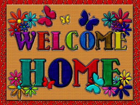 Welcome Home Sign' by Blake Robson on artflakes.com as poster or ...