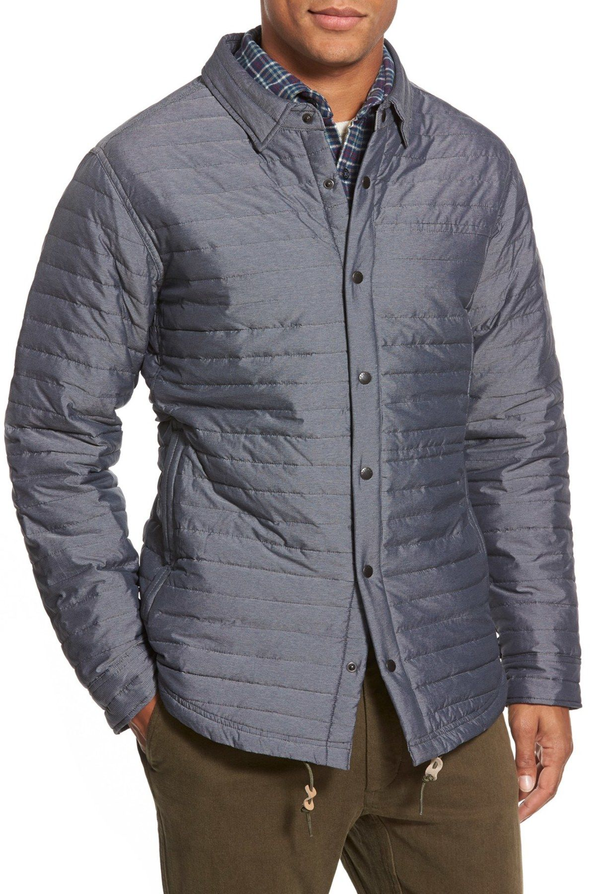 Snap Front Down Jacket