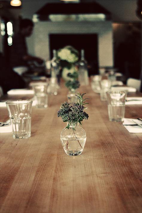 Restaurant Visit Sitka Spruce In Seattle Restaurant Table