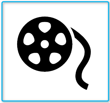 Film Reel Icon In Android Style This Film Reel Icon Has Android Kitkat Style If You Use The Icons For Android Apps We Recommend Android Icons Icon Film Reels