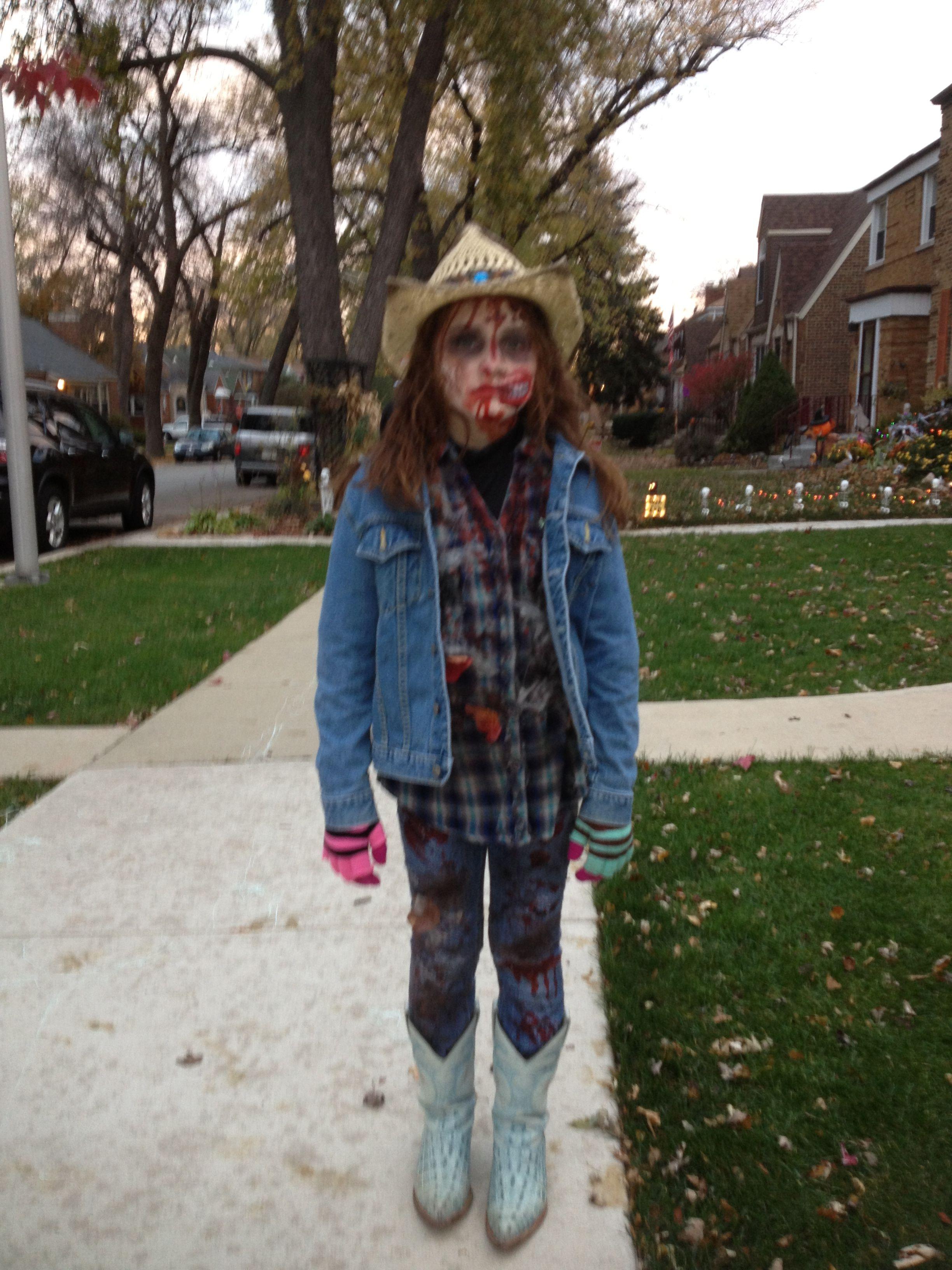 zombie cowgirl | halloween | pinterest | halloween, halloween