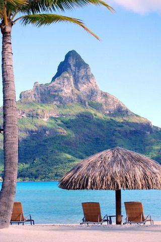 Bora Tahiti French Polynesia IPhone Wallpaper