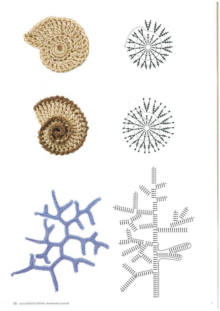 Libro Apliques. Patrones y Tutoriales - Patrones Crochet … | Pinteres…