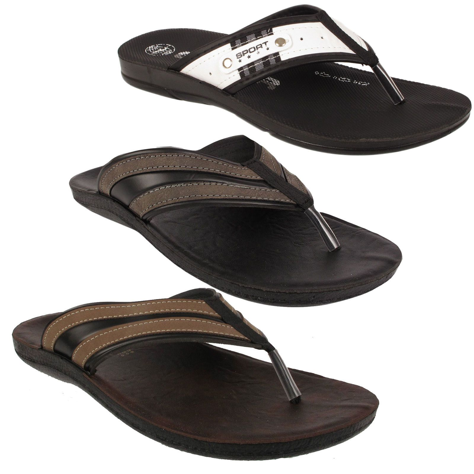 Minimalist sandals men Zeppy.io