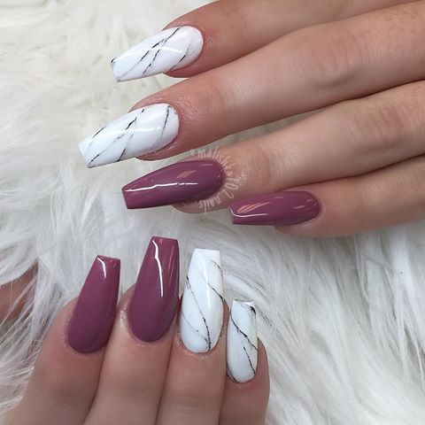coffin nails kortenstein  nail art  pinterest  coffin