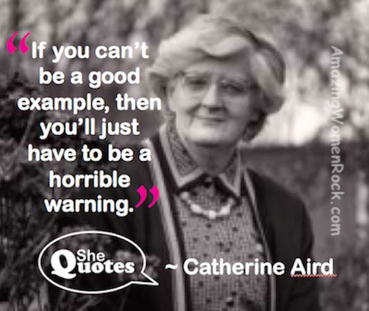 """""""A horrible warning? Oh yes. Without a doubt."""" ~ #SheQuotes #quote #CatherineAird"""