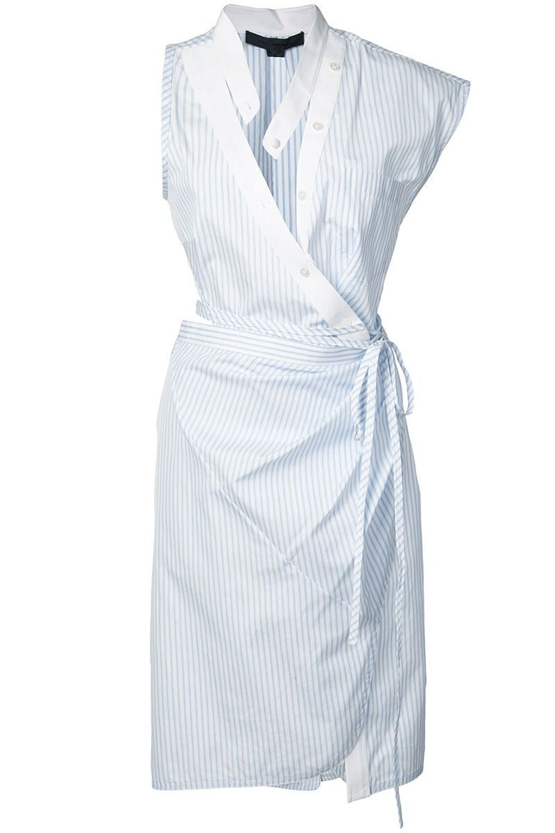 16 Wrap Dresses That Will Take Your Summer Wardrobe To The Next Level Wrap Dress Dresses Poplin Wrap Dress [ 1200 x 800 Pixel ]