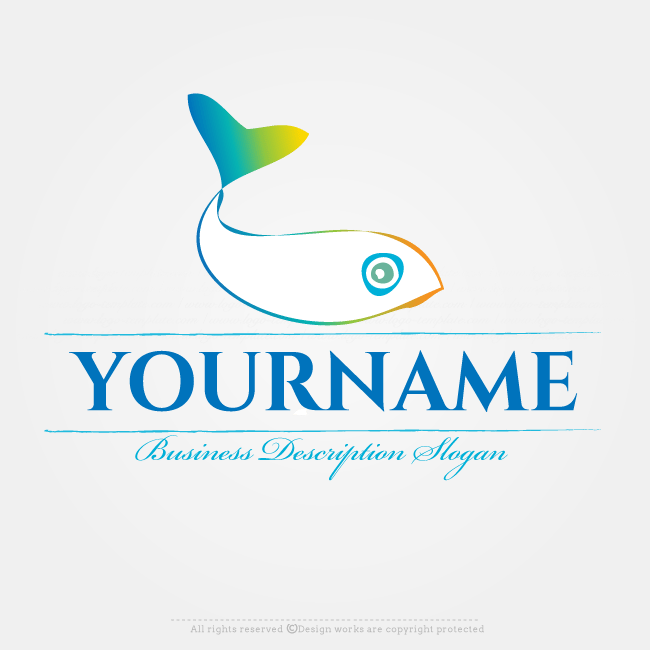 Create A Fish Logo Template With Our Free Creator Design Your Own Online This Ready Made Use The To