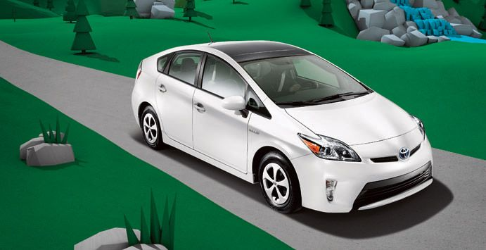 The Toyota Prius The Best Selling Car In The Great State Of
