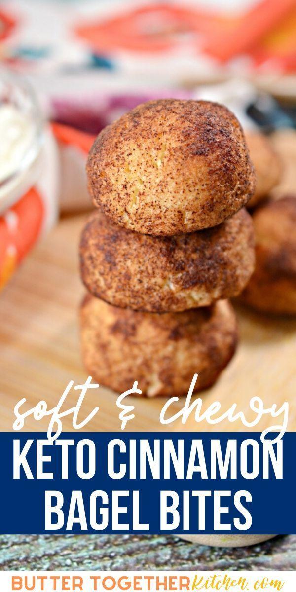 Keto Cinnamon Bagel Bites Butter Together Kitchen Bagel Bites Keto Recipes Easy Best Low Carb Recipes