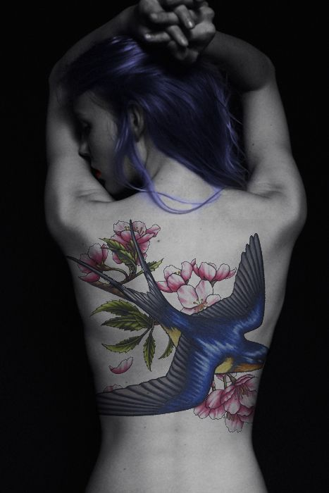 680260ab6 like the tattoo but i thinki really just love the picture and her hair and  everything