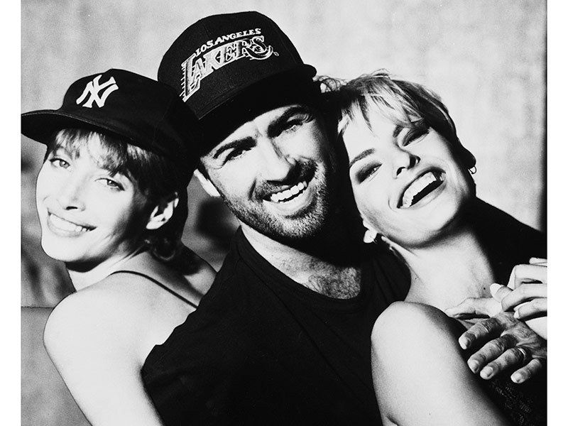 The Freedom 90 Supermodels Pay Tribute To George Michael George Michael George Michael Wham Supermodels