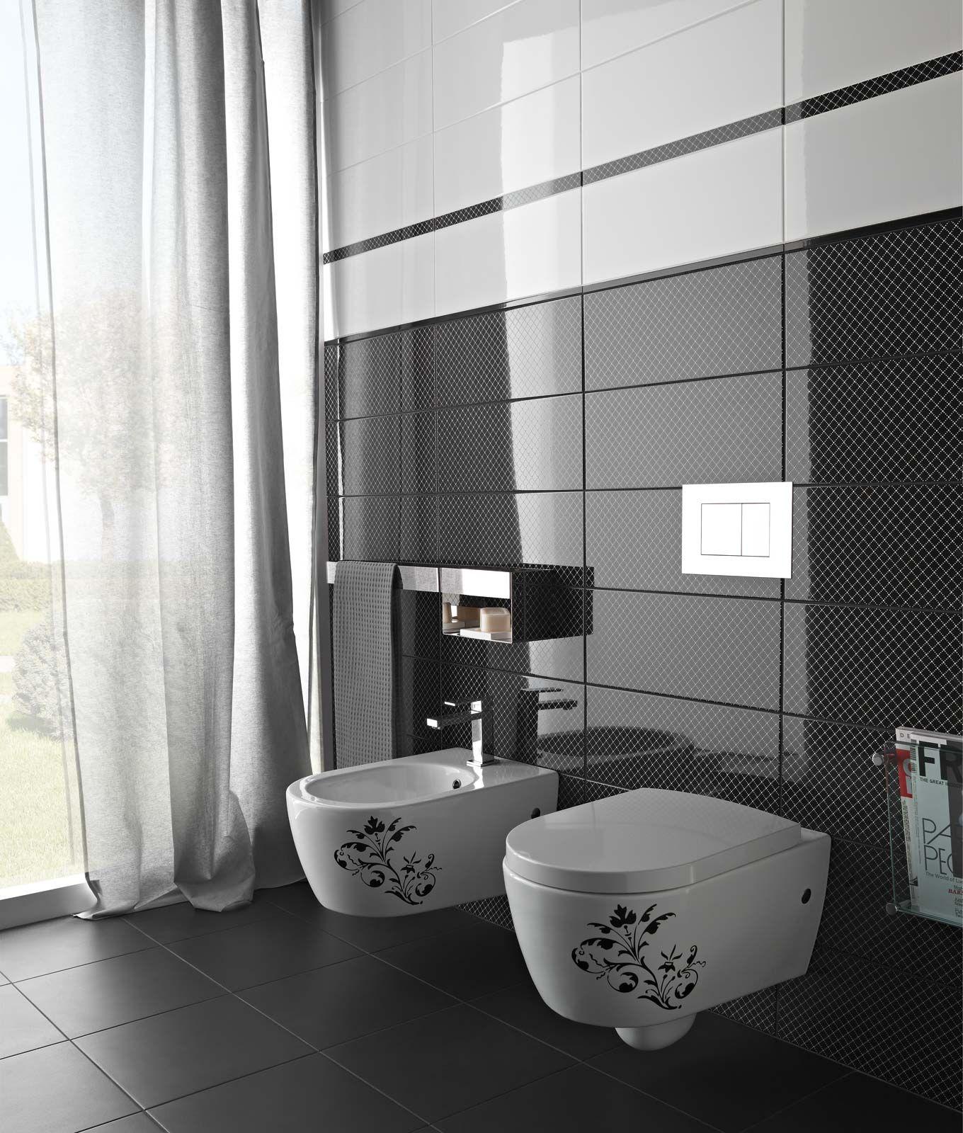 Black&White - piastrelle in ceramica per bagno e cucina | Marazzi ...