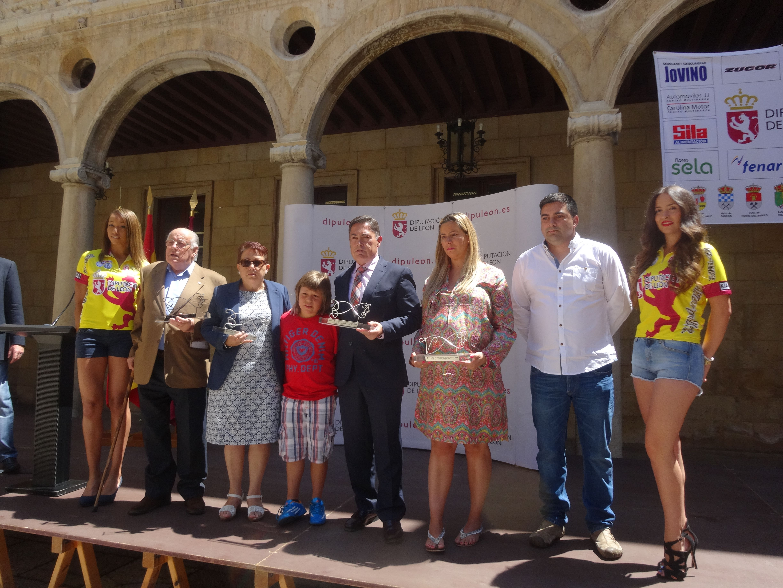 Marcos Martínez presenta  la XXV edición de la Vuelta Ciclista a León