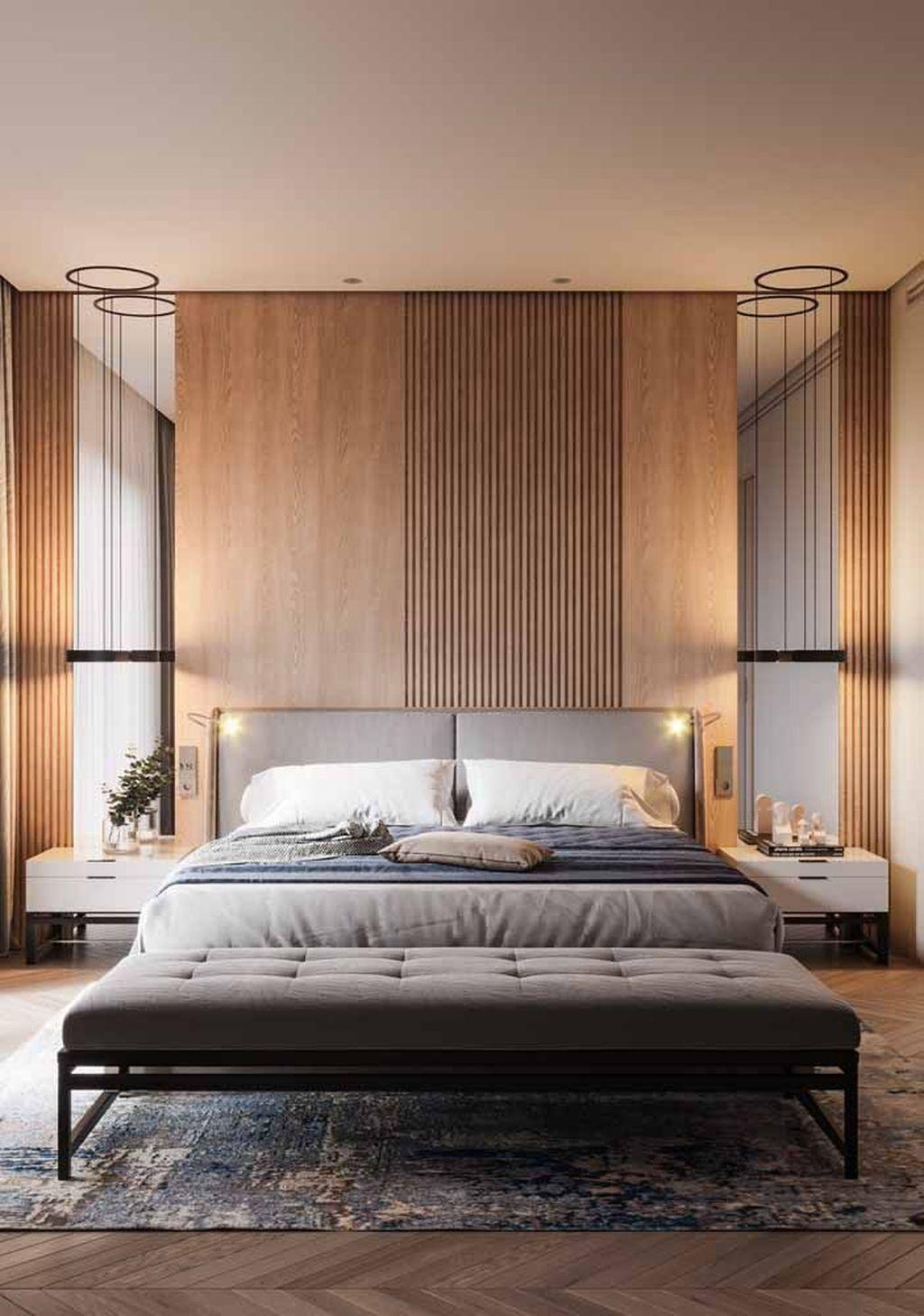 Simple Things For Your Scandinavian Bedroom Decor Ideas Luxurious Bedrooms Bedroom Design Contemporary Bedroom