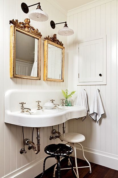 Bathroom Designs · Southern Style Bathroom