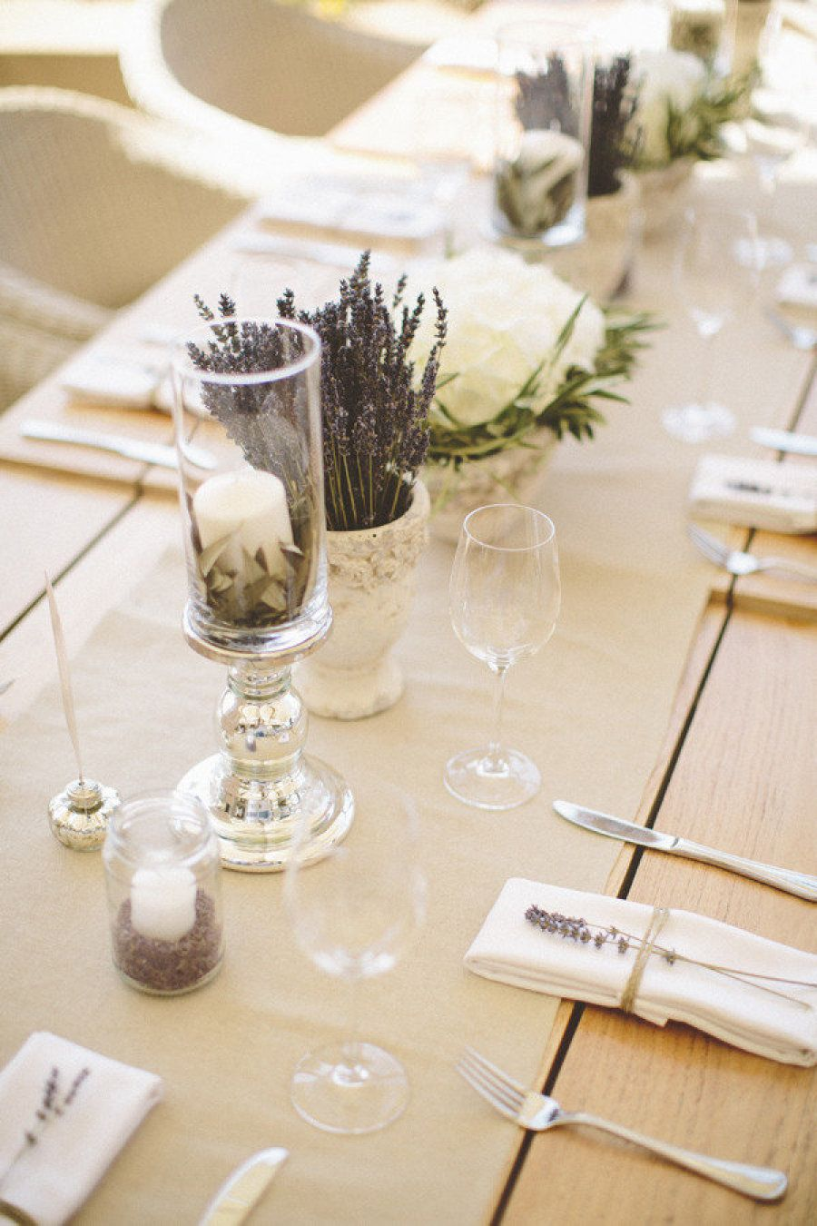 Lavender decor for wedding Greece Wedding from White Ribbon Boutique Events  Lavender