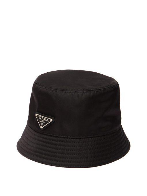 60657046 PRADA Nylon bucket hat. #prada | Prada in 2019 | Prada, Black bucket ...