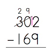a neat trick for subtraction with regrouping