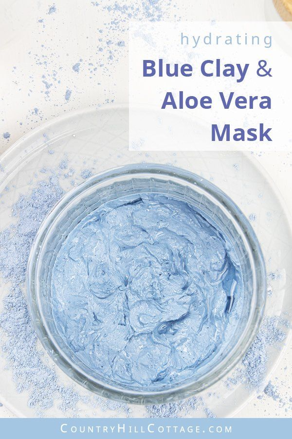 Photo of DIY Blue Clay Mask – 6 Easy Blue Face Mask Recipes