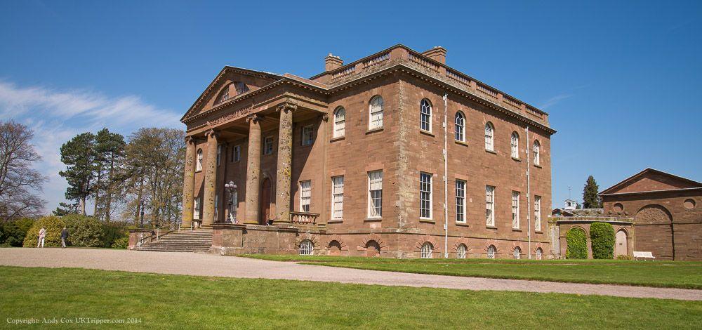 Berrington Hall's Portico #berrington #herefordshire #panorama http://uktripper.com/visits/berrington-hall/