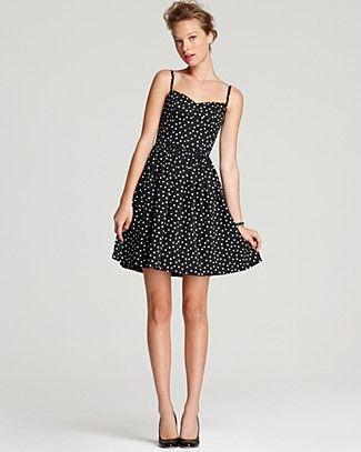 34c3e9596ff8 Aqua Dress - Polka Dot  50s Flare