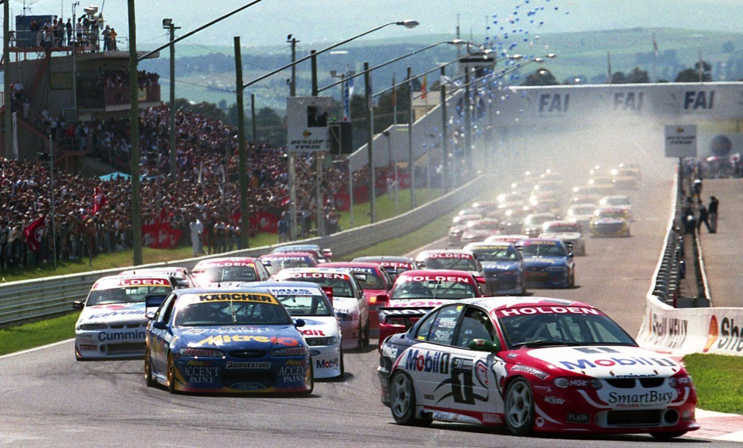 1998 Bathurst 1000 Start Australian V8 Supercars Super Cars V8 Supercars
