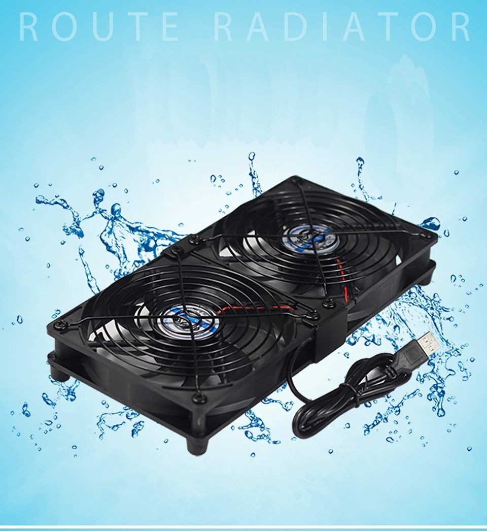 120mm Multi Fan Combination 5v Usb Fan Pc Chassis 12cm Amp Cooling