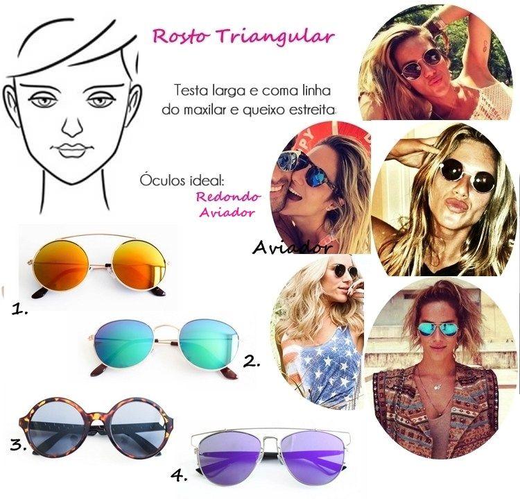 df89d5334 Óculos de Sol Ideal para Cada Tipo de Rosto Retangular | Dicas ...