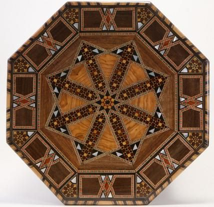 Joseph And Charles House Octagonal Syrian Table With