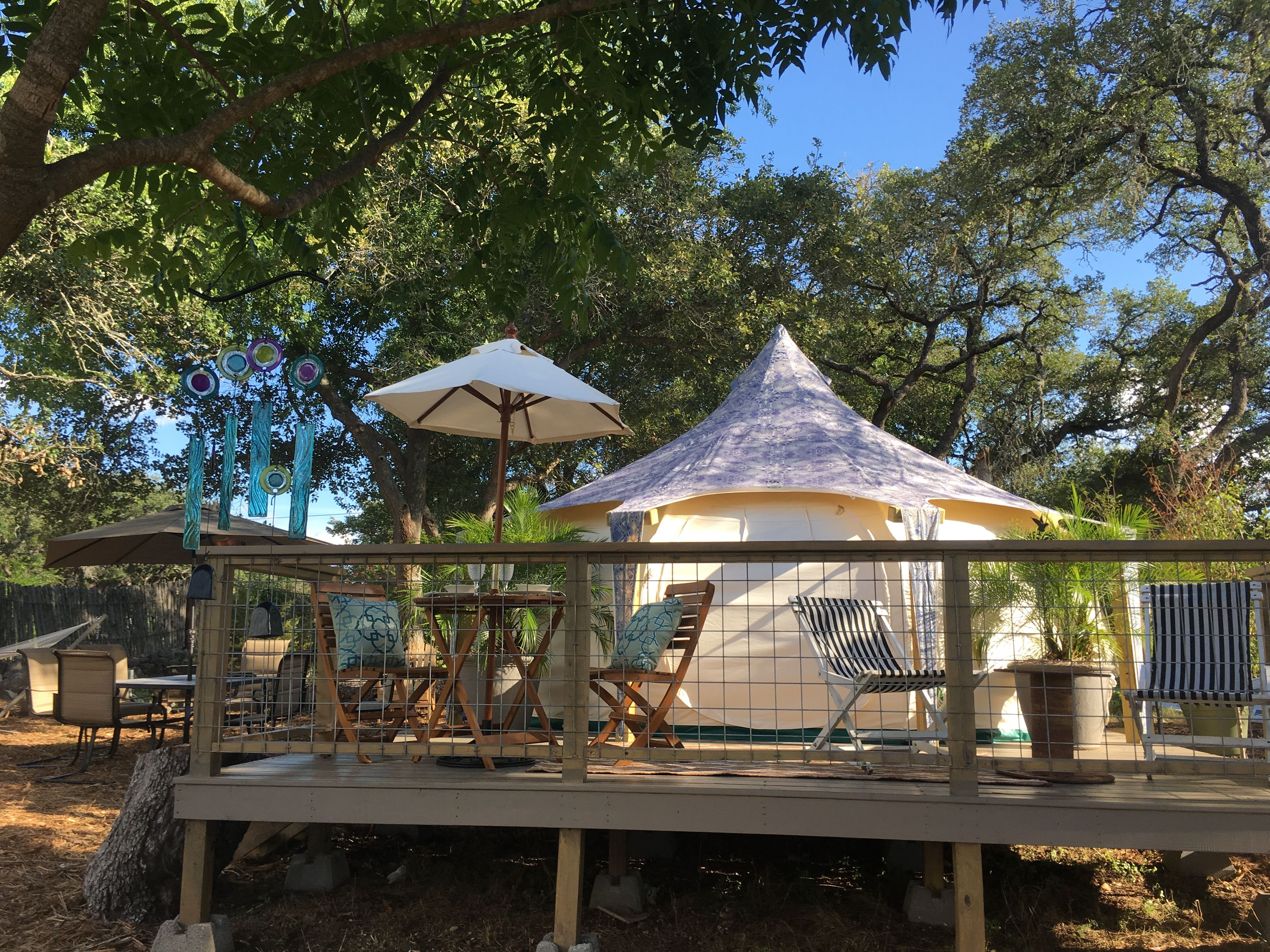 Glamping Rock Harbor Hill Country Lodge Texas Hill