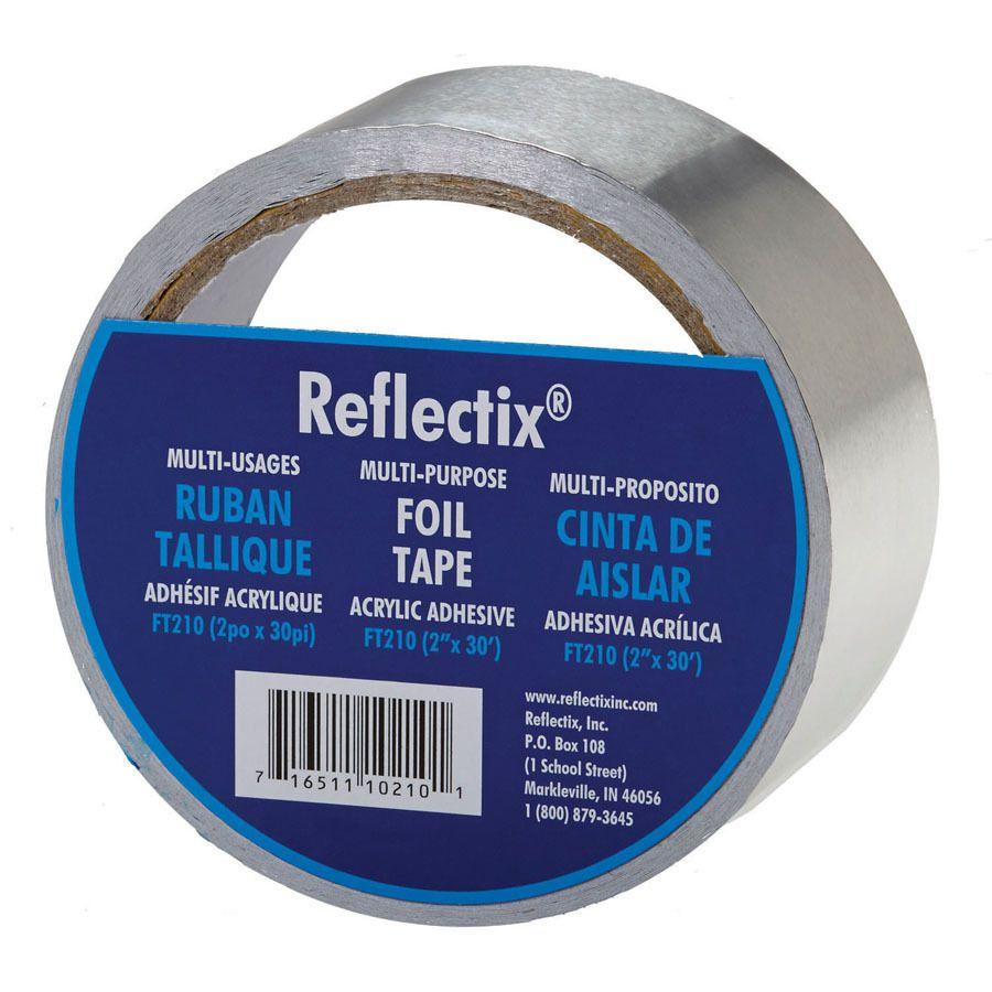 Reflextix Foil Tape For Using On Cooler Jacket Foil Tape Reflective Insulation Roll Insulation