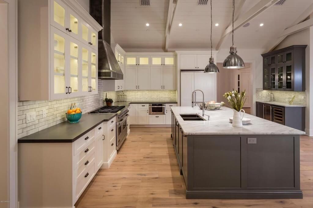 31 Custom Luxury Kitchen Designs Some 100k Plus Kitchen Design Color Luxury Kitchens Modern Grey Kitchen