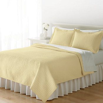 Home Classics Anna Yellow Floral Quilt Bedroom Ideas Pinterest