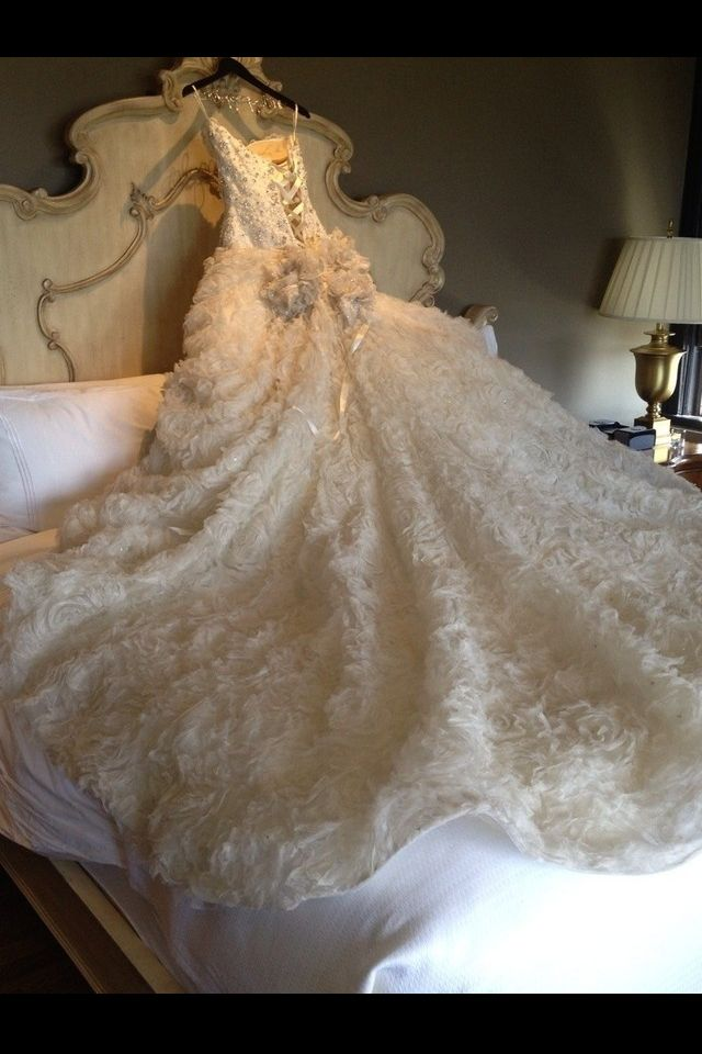 My Pnina Tornai Wedding Dress From Kleinfeld I Loved It