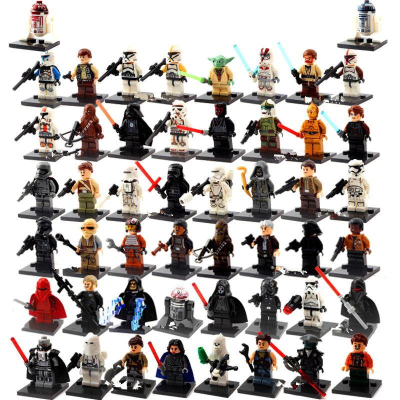 1 Sztuk Jedna Sprzedaż Siły Awakens Yoda Starwars Diy Klocki Klocki